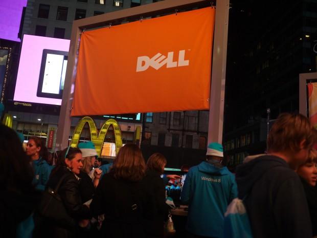 Dell na Times Square.