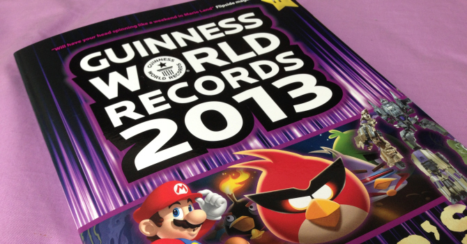 Guiness World Records Gamer's Edition 2013 (Foto: postitgamer)