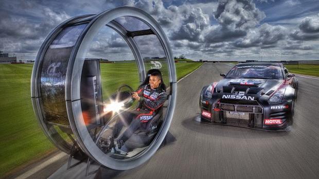 Jahn Mardenborough garantiu seu espaço como piloto da Nissan através de Gran Turismo (Foto: Mail Online)