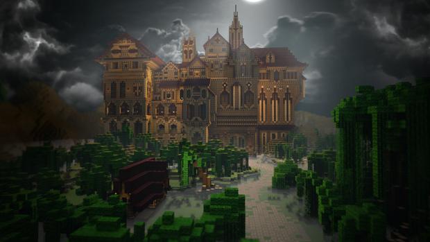 minecraft-mansão-herobrine-mapa-de-aventura