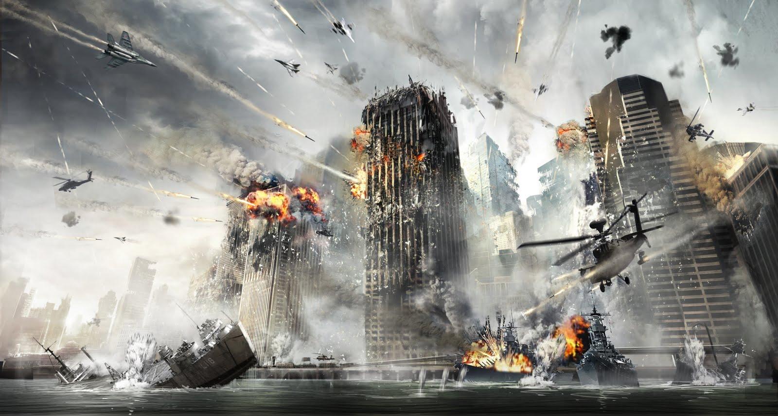 Nova York é atacada em Modern Warfare 3 (Foto: Divulgação)