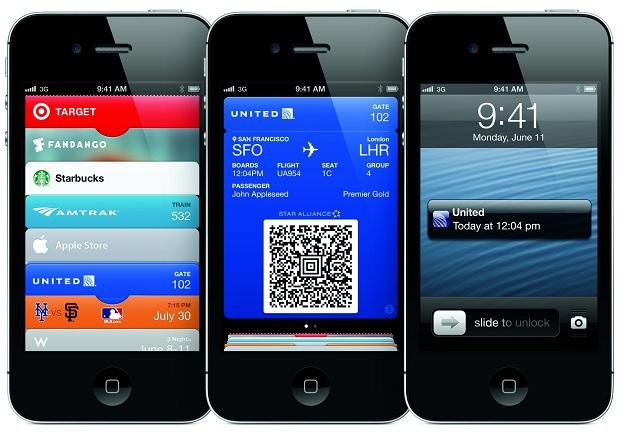 Passbook é um recurso bem útil do iOS 6 (Foto: Divulgação)