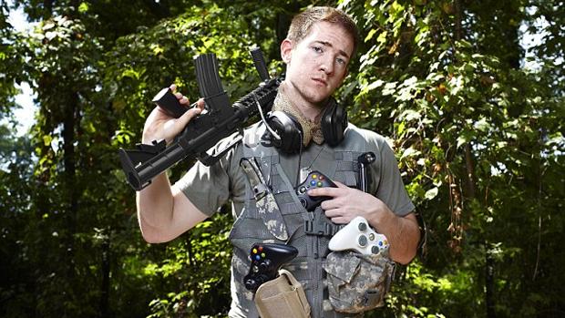 """Will """"BigTymer"""" Johnson já ganhou mais de R$ 265 mil em torneios de Call of Duty (Foto: Mail Online)"""