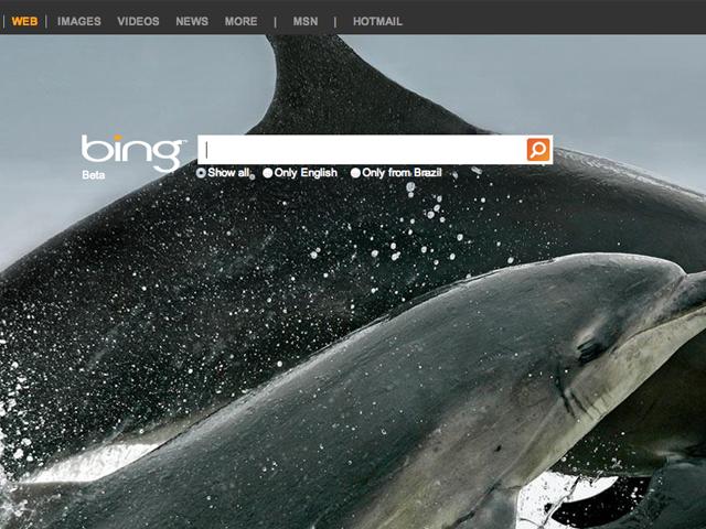 Bing: ferramenta de buscas da Microsoft. (Foto: Reprodução / Bing)