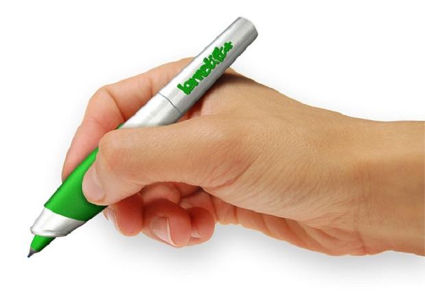 Lernstift é a caneta que promete corrigir erros ortográficos e gramaticais (Foto: Divulgação/Lernstift.com)