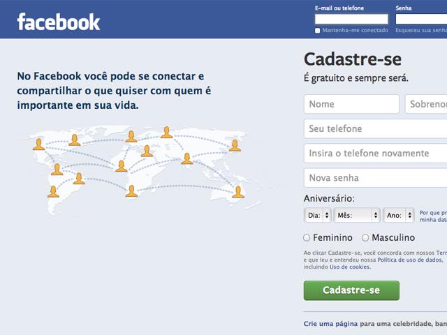 A rede social de Mark Zuckerberg já ultrapassou 1 bilhão de usuários. (Foto: Reprodução / Facebook)