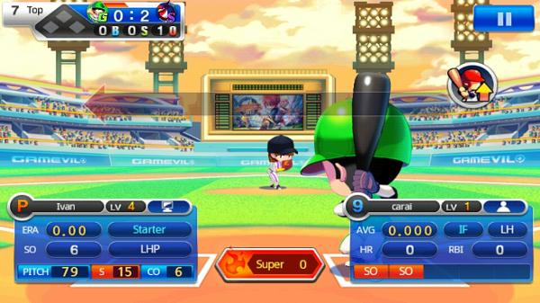 Baseball Superstars 2013 mistura RPG e jogo casual de forma divertida e viciante (Foto: Reprodução)