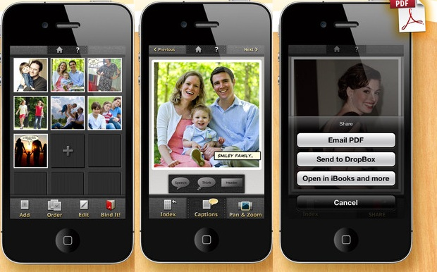 Bindle transforma suas fotos em albuns ou livros no formato PDF (Foto: Divulgação)