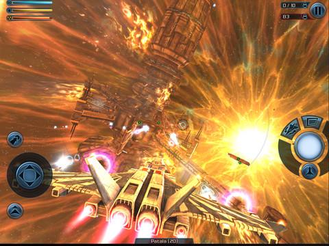 Galaxy on Fire 2 HD é um dos primeiros jogos 3D para iPhone (Foto: Divulgação)