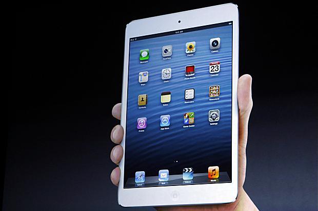 iPad é o símbolo dos tablets de cerca de dez polegadas (Foto: Reprodução The Times)