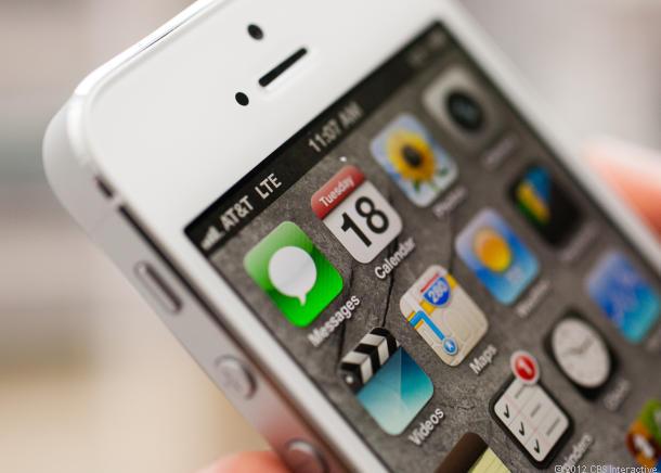 iPhone 5S deve ser idêntico ao iPhone 5 (Foto: Reprodução CNET)