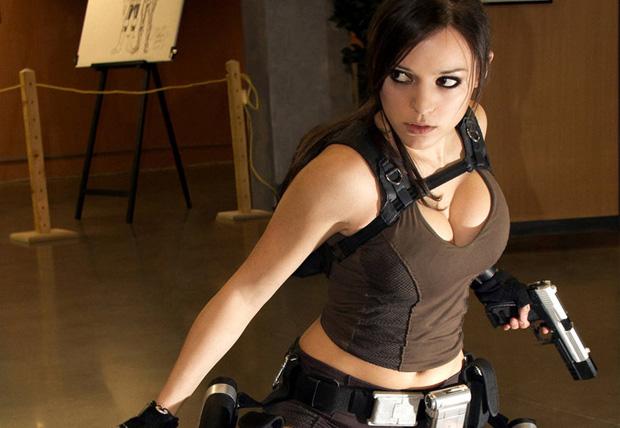 Lara Croft, de Tomb Raider, mostra seus dotes (Foto: Reprodução/Obvious) (Foto: Lara Croft, de Tomb Raider, mostra seus dotes (Foto: Reprodução/Obvious))