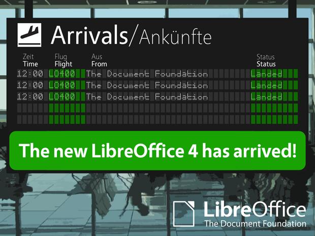 LibreOffice versão 4.0 chega para usuários de Windows, Linux e Mac. Foto: Reprodução / The Document Foundation