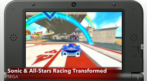 Sonic & All-Stars Racing Transformed tem o mesmo conteúdo dos consoles (Foto: Divulgação)