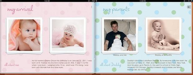 App permite fazer registro multimídia sobre a vida dos filhos (Foto: Divulgação)