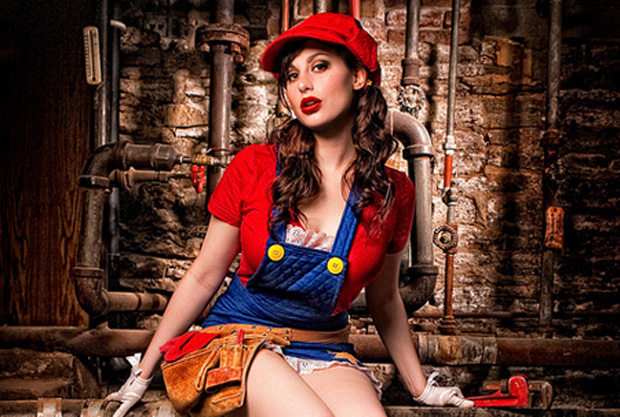 Por que não uma Super Mario mulher? (Foto: Reprodução/Fan Central)