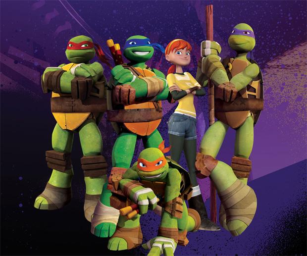 Novo desenho animado das Tartarugas Ninja inspira os jogos (Foto: Divulgação)