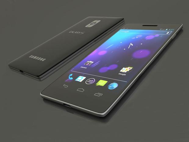 Mockup mostra concepção de designer sobre como será o Galaxy S4 (Foto: Reprodução) (Foto: Mockup mostra concepção de designer sobre como será o Galaxy S4 (Foto: Reprodução))
