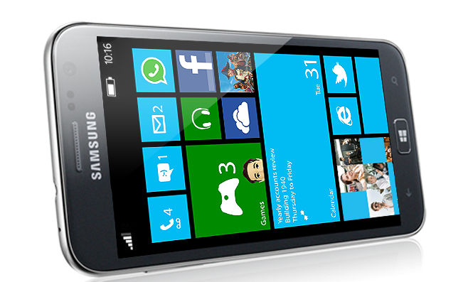 Samsung Ativ S com Windows Phone 8 (Foto: Divulgação)