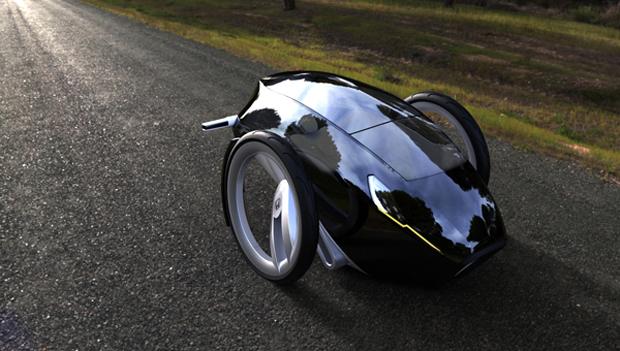 Type E seria um Honda capaz de fazer uma volta de 360º sem sair do lugar  (Foto: Divulgação)