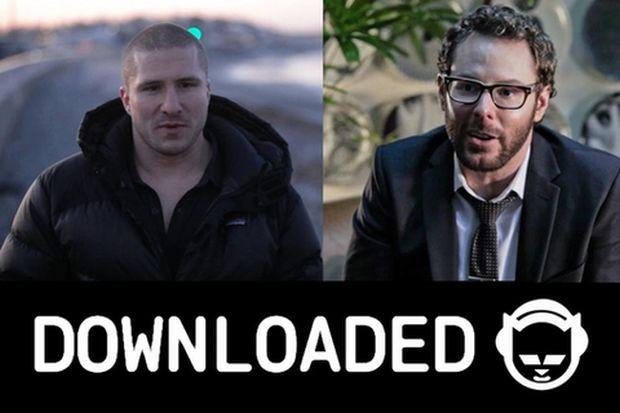 Shawn Fanning e Sean Parker fundaram o Napster. A história se tornará documentário (Reprodução|SXSW)
