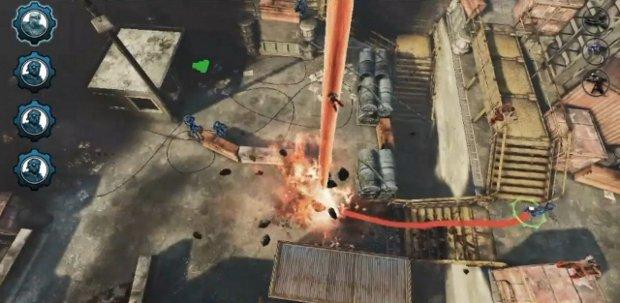 Gears of War: Tactics seria um belo jogo de estratégia para o Kinect (Foto: Reprodução / VGleaks.com)