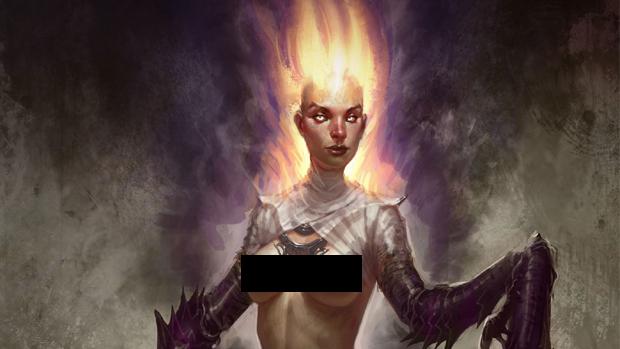 Empusa é a nova criatura mitológica revelada como inimiga de Kratos (Foto: Save and Quit)