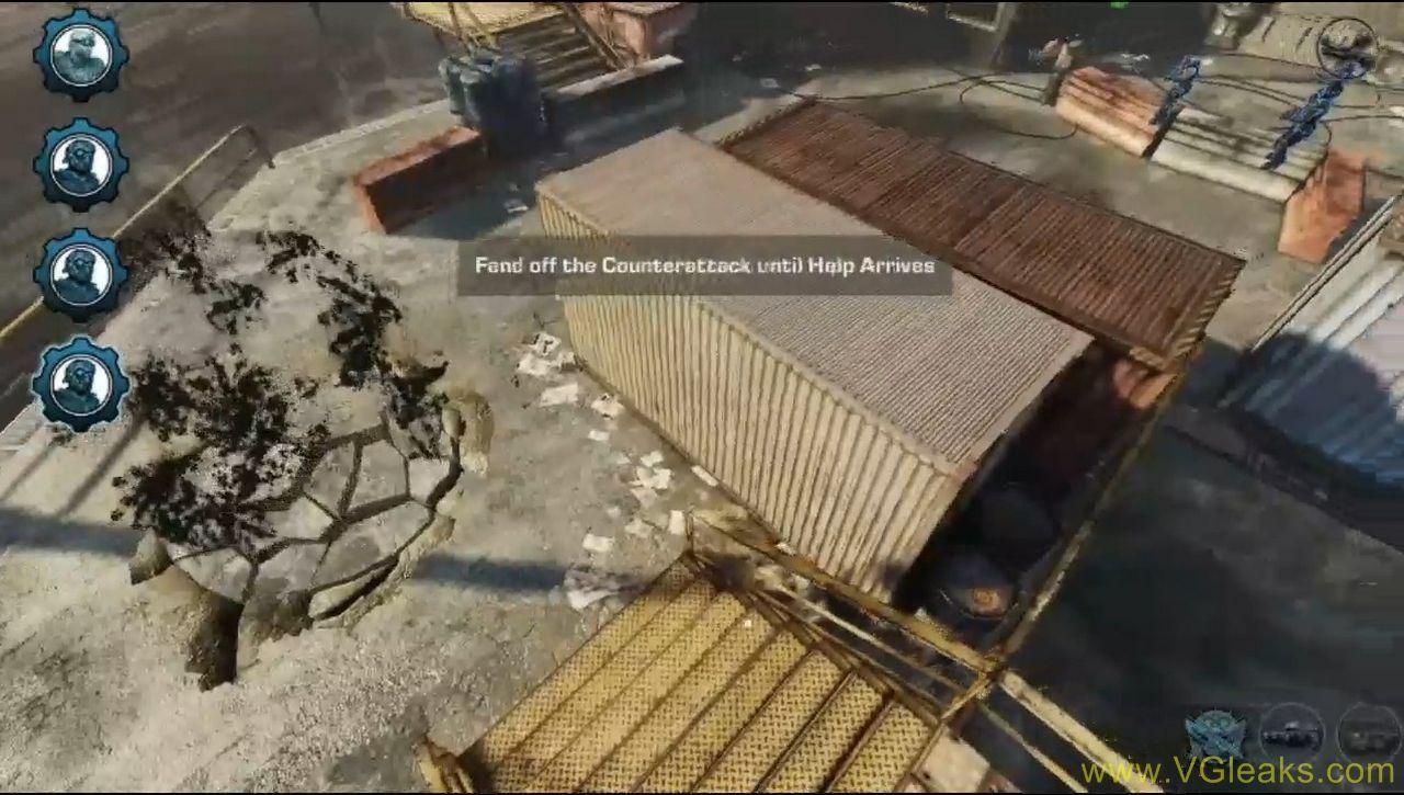 Missão de defesa de território em Gears of War: Tatics (Foto: Gaming Everything)