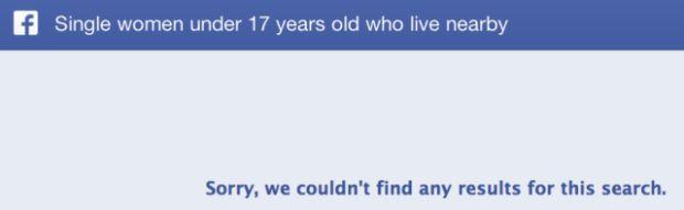 Imagem que vai aparecer ao buscar perfis de menores com o Graph Search do Facebook (Reprodução|TechCrunch)