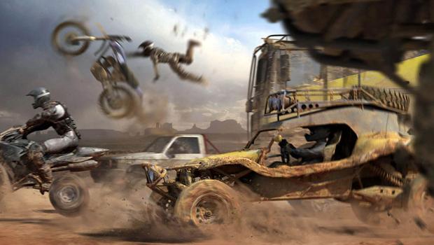 Imagine a qualidade que terá a lama da nova geração de MotorStorm (Foto: Divulgação)