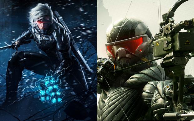 Metal Gear Rising e Crysis 3 são os grandes lançamentos da semana (Foto: Reprodução)