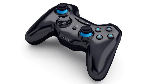 O controle Gioteck GC-2, para PS3, imita o do Xbox 360 e oferece vários recursos (Foto: Divulgação)