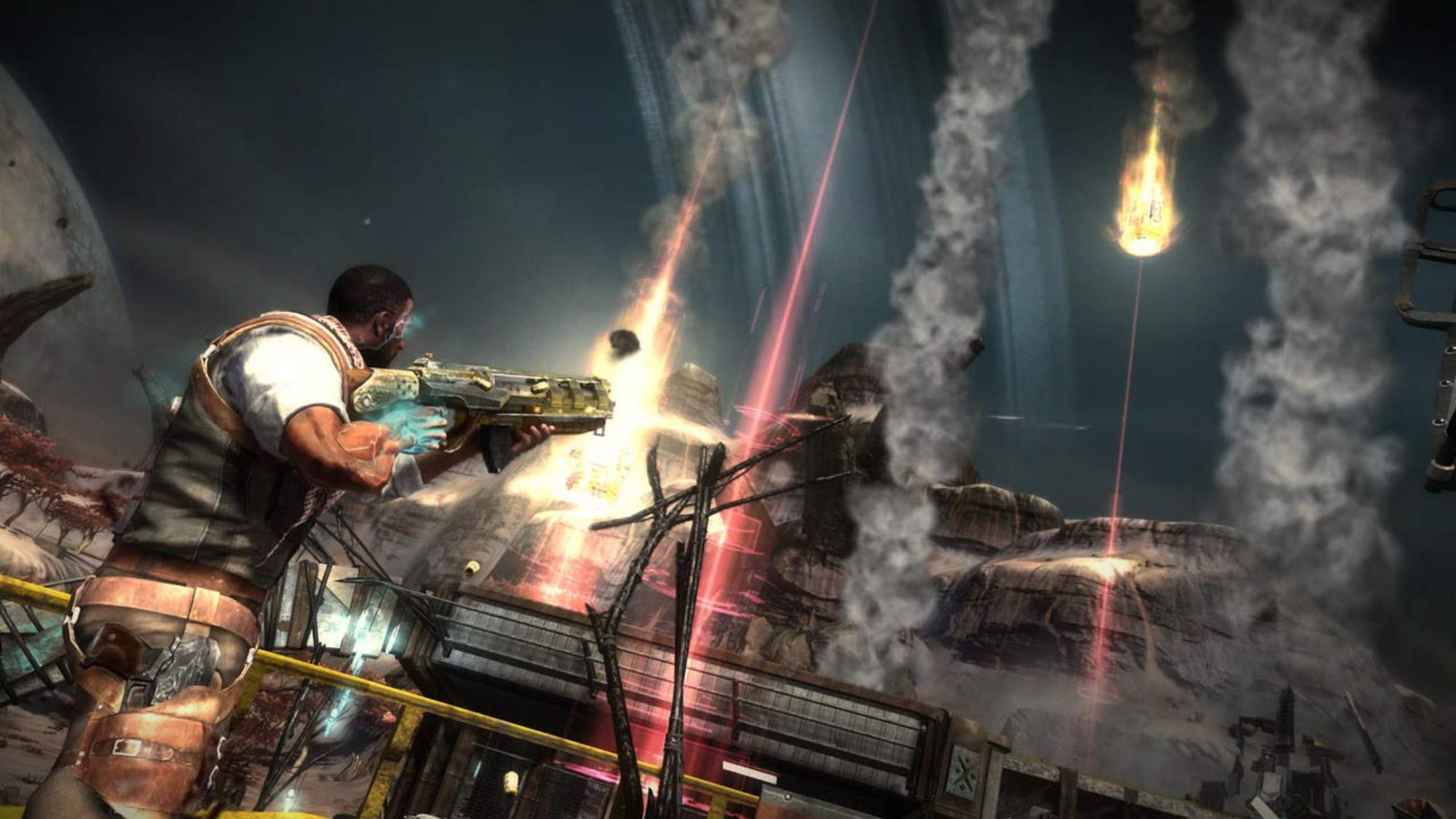 Os ataques aéreos de Starhawk vêm do espaço! (Foto: Divulgação)