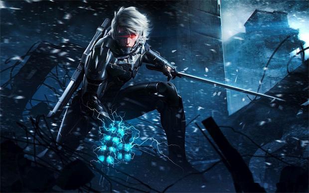 Raiden é o herói de Metal Gear Rising (Foto: Divulgação) (Foto: Raiden é o herói de Metal Gear Rising (Foto: Divulgação))