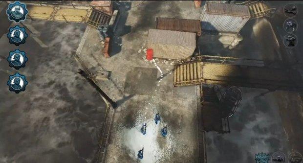 Um esquadrão entrando em ação em Gears of War Tactics (Foto: Reprodução / VGleaks.com) (Foto: Um esquadrão entrando em ação em Gears of War Tactics (Foto: Reprodução / VGleaks.com))