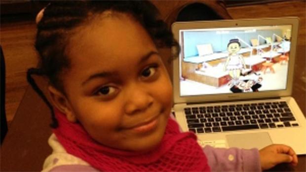Zora Ball, de 7 anos, é a mais jovem desenvolvedora de jogos do mundo (Foto: Jezebel)