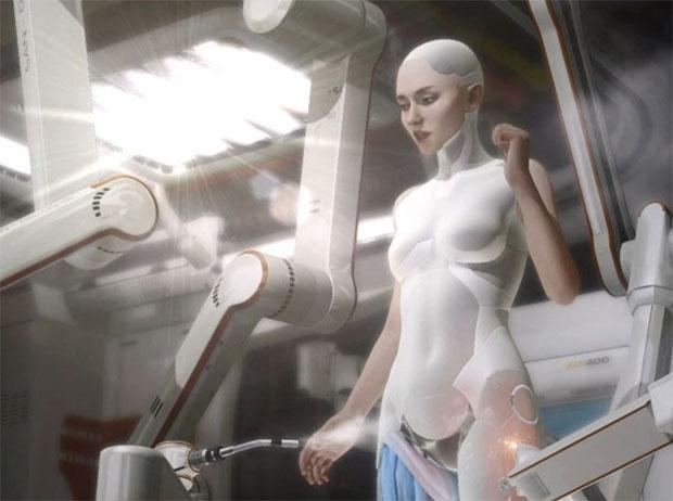 Kara é uma demo tecnológica que pode virar jogo no PS4 (Foto: Divulgação)