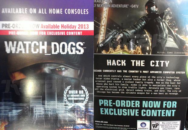 Anúncio sugere lançamento de Watch Dogs para ainda este ano (Foto: Reprodução/Kotaku)