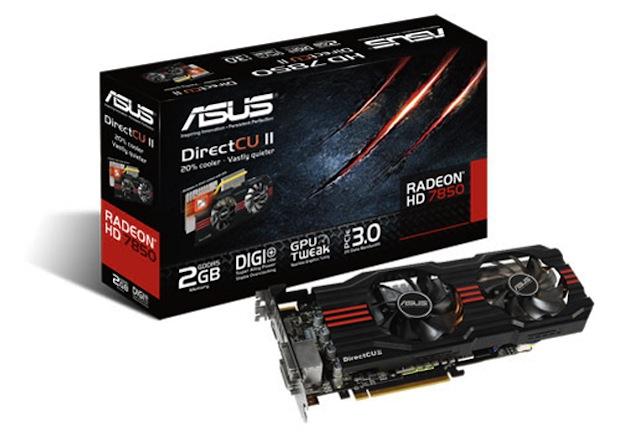 Asus Radeon HD 7850 (Foto: Divulgação)