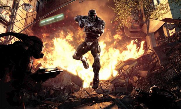 Em Crysis 2, o jogo muda de cenário (Foto: Divulgação)