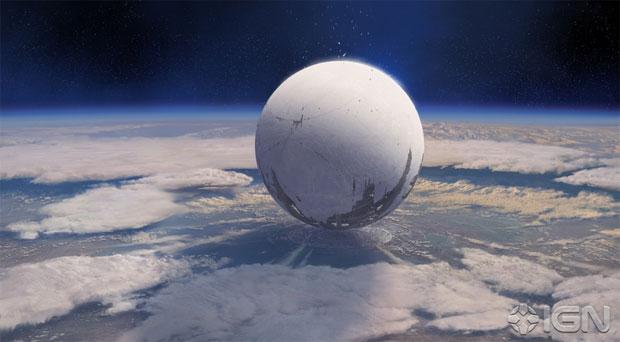 Esfera salvou a humanidade em Destiny (Foto: Reprodução/IGN)