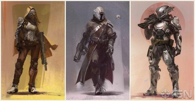 Personagens terão muito a se fazer em Destiny (Foto: Reprodução/IGN)