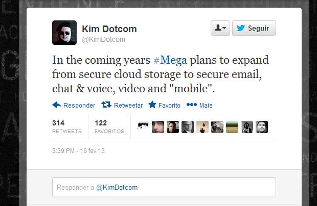 Mega será expandido e terá e-mail, chat, voz, vídeo e serviços móveis (Foto: Divulgação)