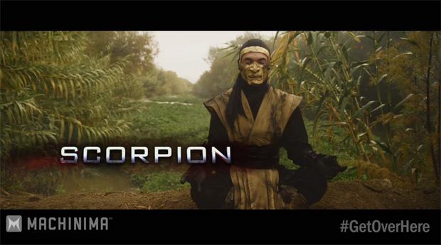 Scorpion é um dos personagens em Mortal Kombat Legacy 2 (Foto: Reprodução/Machinima)