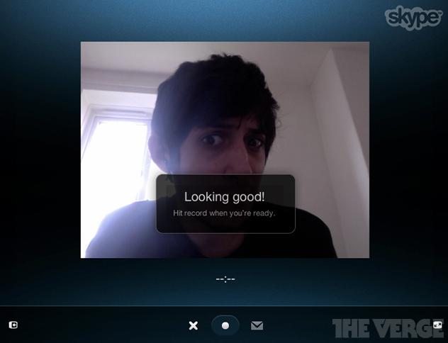Skype está lançando nova ferramenta de mensagens em vídeo (Foto: Reprodução/The Verge)