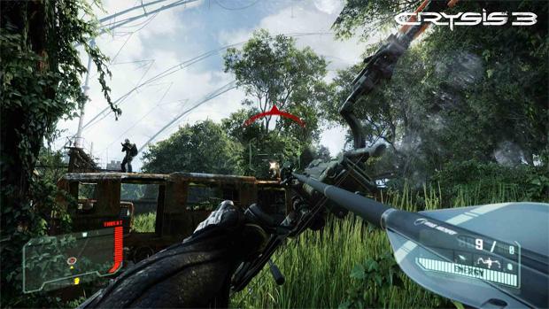 Crysis 3 conta com armas tecnológicas, como arco e flecha com mira especial (Foto: Divulgação) (Foto: Crysis 3 conta com armas tecnológicas, como arco e flecha com mira especial (Foto: Divulgação))