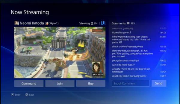 Será possível compartilhar vídeos de suas partidas no PS4 com seus amigos (Foto: Divulgação)