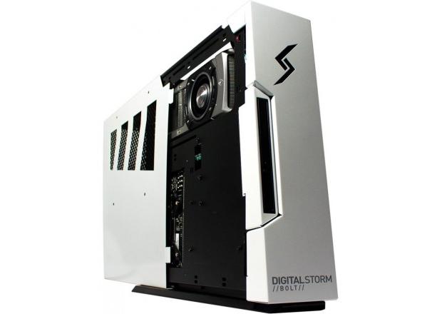 Repare na parte superior do gabinete: o cooler da Geforce Titan fica exposto para melhorar a refrigeração (Foto: Divulgação)