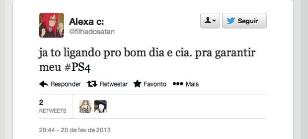 @filhadosatan (Foto: Reprodução/Twitter)