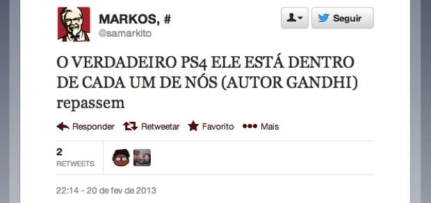 @samarkito (Foto: Reprodução/Twitter)